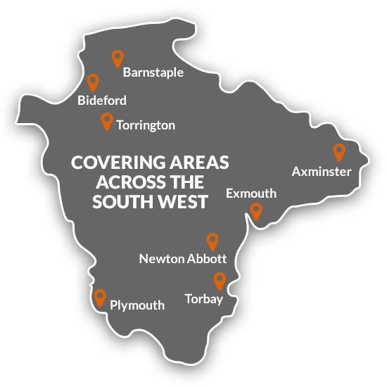 Covering areas across the South West