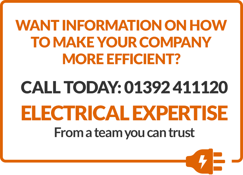Make your company more efficient. Call 01392 411120